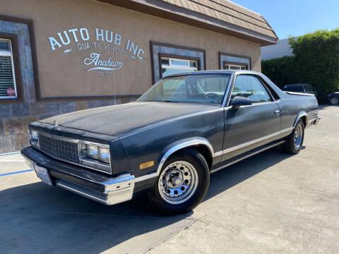 1986 Chevrolet El Camino for sale at Auto Hub, Inc. in Anaheim CA