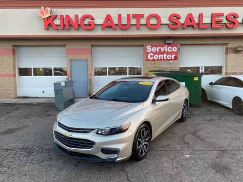 2016 Chevrolet Malibu for sale at KING AUTO SALES  II in Detroit MI