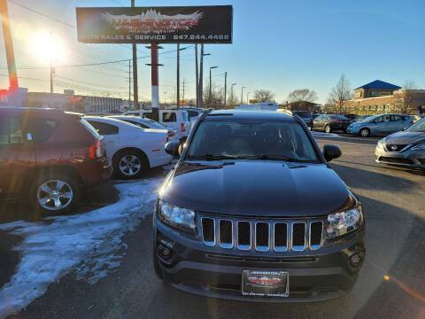 2014 Jeep Compass for sale at Washington Auto Group in Waukegan IL