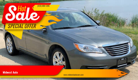 2011 Chrysler 200 for sale at Midwest Auto in Naperville IL