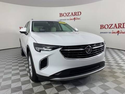 2021 Buick Envision for sale at BOZARD FORD in Saint Augustine FL