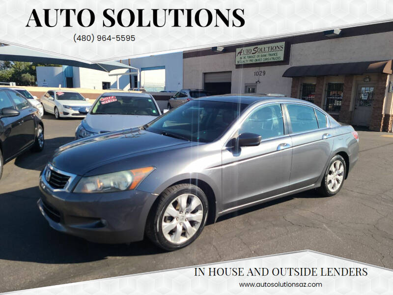 2010 Honda Accord for sale at Auto Solutions in Mesa AZ