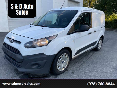 2016 Ford Transit Connect Cargo for sale at S & D Auto Sales in Maynard MA