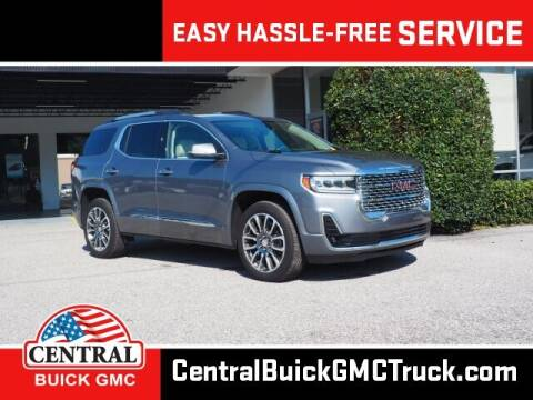 2020 GMC Acadia for sale at Central Buick GMC in Winter Haven FL