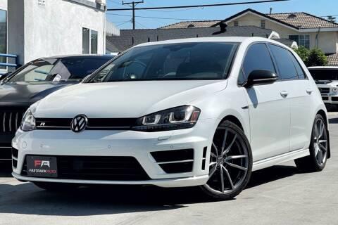 2017 Volkswagen Golf R for sale at Fastrack Auto Inc in Rosemead CA