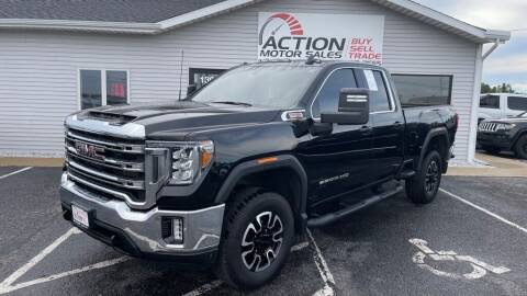 2020 GMC Sierra 2500HD for sale at Action Motor Sales in Gaylord MI