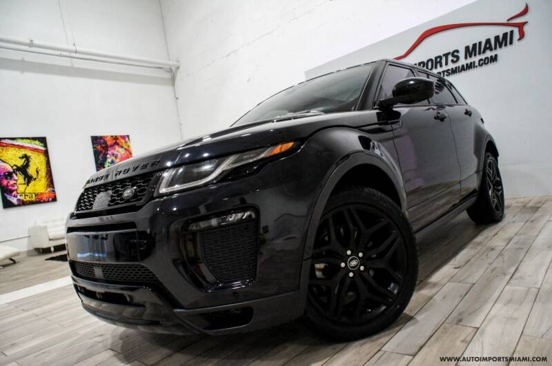 2017 Land Rover Range Rover Evoque for sale at AUTO IMPORTS MIAMI in Fort Lauderdale FL