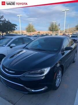 2016 Chrysler 200 for sale at Stephen Wade Pre-Owned Supercenter in Saint George UT