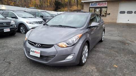 2013 Hyundai Elantra for sale at Auto Match in Waterbury CT