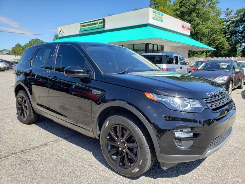 2017 Land Rover Discovery Sport for sale at Action Auto Specialist in Norfolk VA