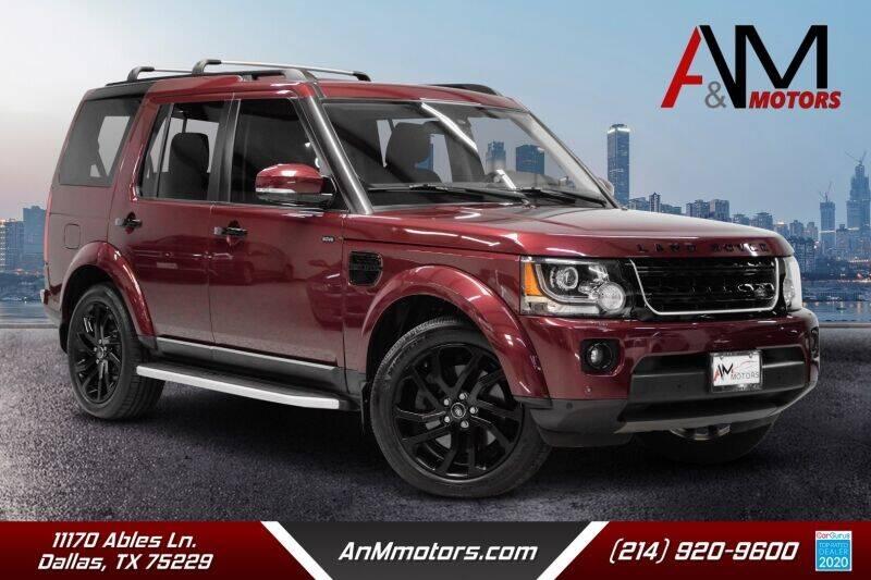 2016 Land Rover LR4 for sale in Dallas, TX