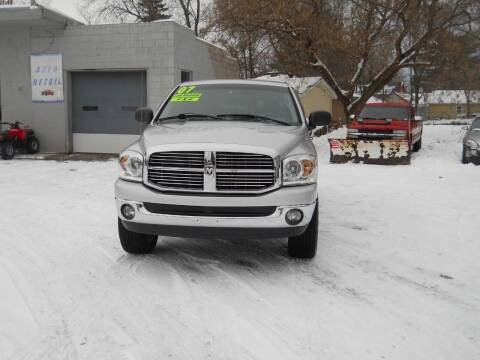 2007 Dodge Ram Pickup 1500 for sale at Shaw Motor Sales in Kalkaska MI