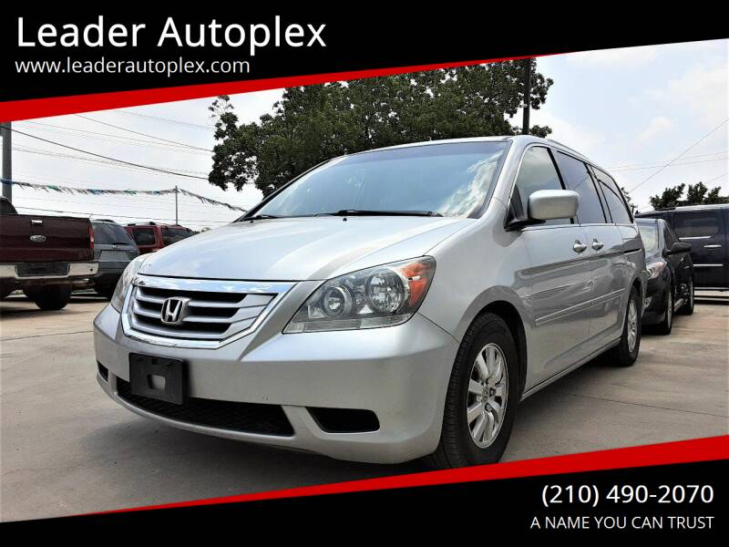 2010 Honda Odyssey for sale at Leader Autoplex in San Antonio TX