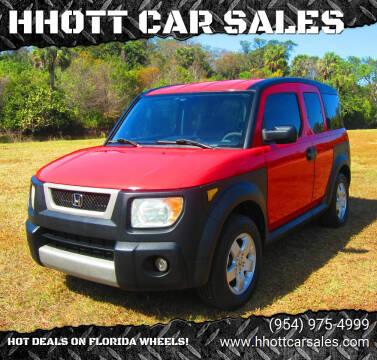 2005 Honda Element for sale at HHOTT CAR SALES in Deerfield Beach FL
