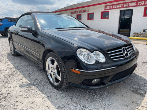 2005 Mercedes-Benz CLK for sale at Sarpy County Motors in Springfield NE