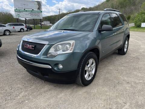 2009 GMC Acadia for sale at Court House Cars, LLC in Chillicothe OH