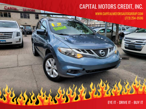 2012 Nissan Murano for sale at Capital Motors Credit, Inc. in Chicago IL
