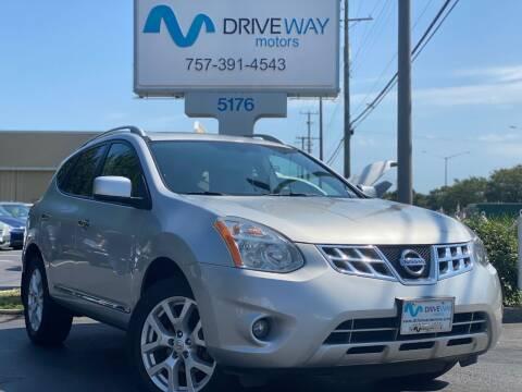 2011 Nissan Rogue for sale at Driveway Motors in Virginia Beach VA