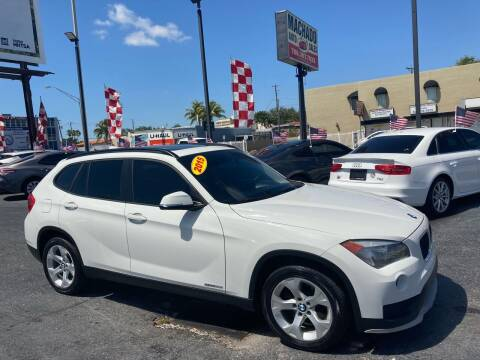 2015 BMW X1 for sale at MACHADO AUTO SALES in Miami FL