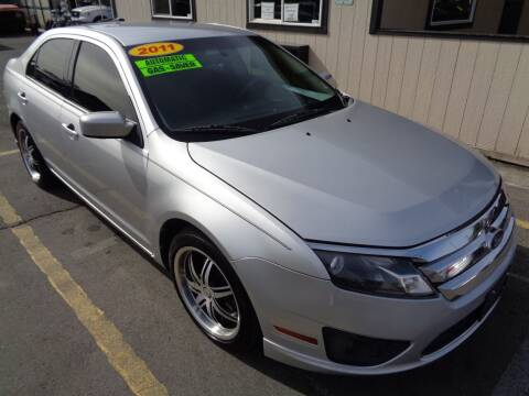 2011 Ford Fusion for sale at BBL Auto Sales in Yakima WA