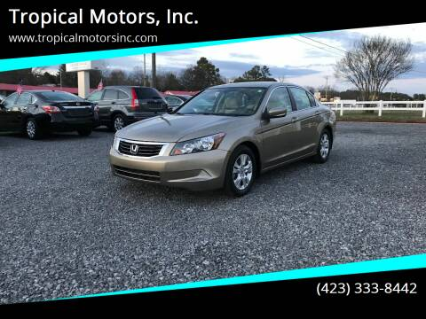 2010 Honda Accord for sale at Tropical Motors, Inc. in Riceville TN