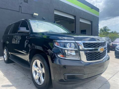 2016 Chevrolet Tahoe for sale at GCR MOTORSPORTS in Hollywood FL