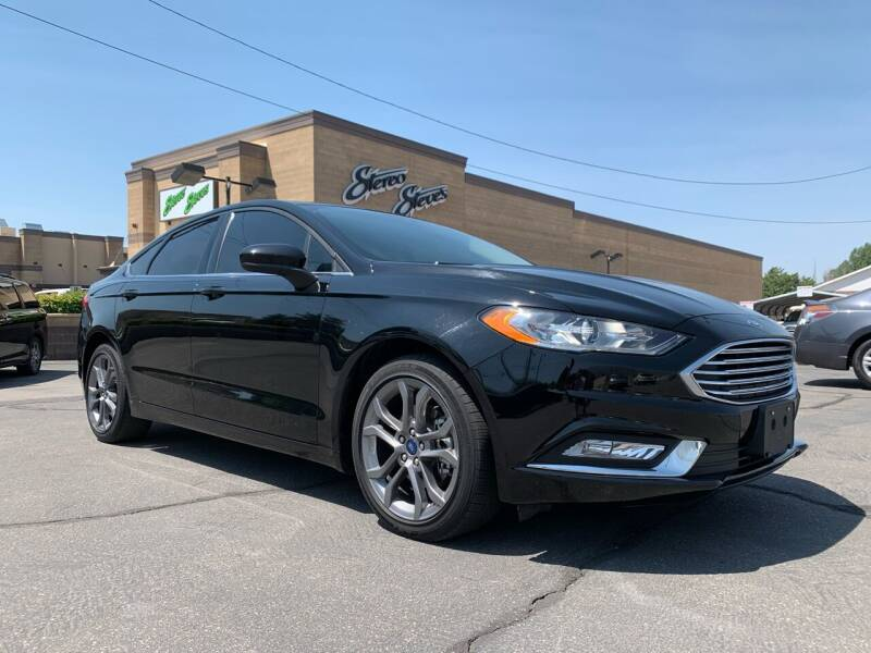 2017 Ford Fusion for sale at Ultimate Auto Sales Of Orem in Orem UT