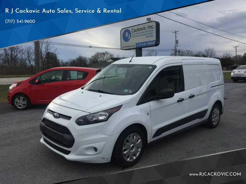 2015 Ford Transit Connect Cargo for sale at R J Cackovic Auto Sales, Service & Rental in Harrisburg PA