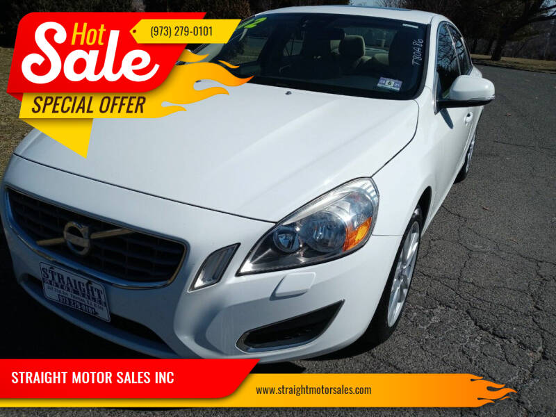 2012 Volvo S60 for sale at STRAIGHT MOTOR SALES INC in Paterson NJ