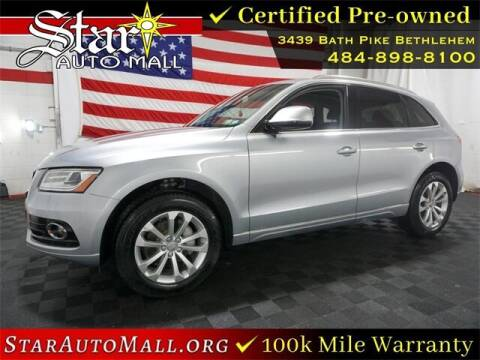 2017 Audi Q5 for sale at STAR AUTO MALL 512 in Bethlehem PA