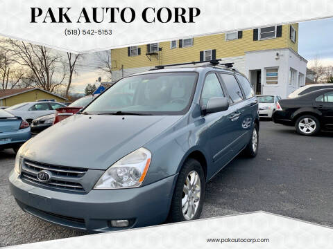 2009 Kia Sedona for sale at Pak Auto Corp in Schenectady NY
