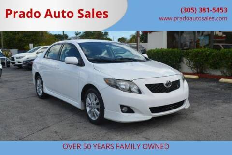 2010 Toyota Corolla for sale at Prado Auto Sales in Miami FL