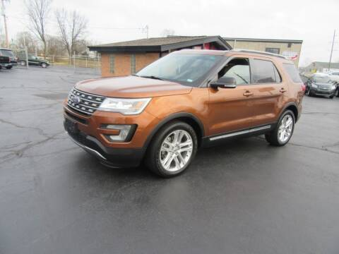 2017 Ford Explorer for sale at Riverside Motor Company in Fenton MO