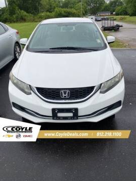2014 Honda Civic for sale at COYLE GM - COYLE NISSAN - New Inventory in Clarksville IN