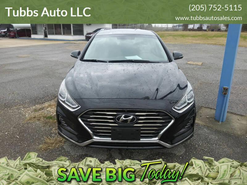 2018 Hyundai Sonata for sale at Tubbs Auto LLC in Tuscaloosa AL