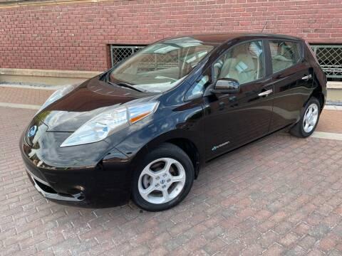 2013 Nissan LEAF for sale at Euroasian Auto Inc in Wichita KS