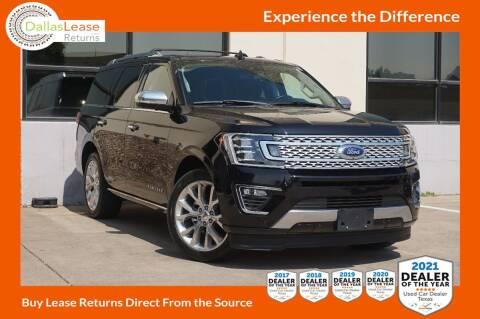 2019 Ford Expedition for sale at Dallas Auto Finance in Dallas TX