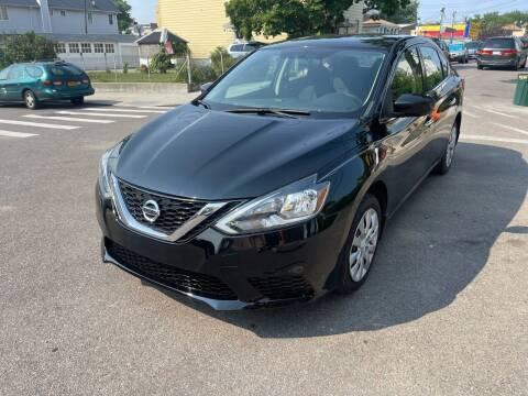 2017 Nissan Sentra for sale at Kapos Auto, Inc. in Ridgewood NY