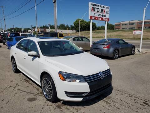 2013 Volkswagen Passat for sale at AutoLink LLC in Dayton OH