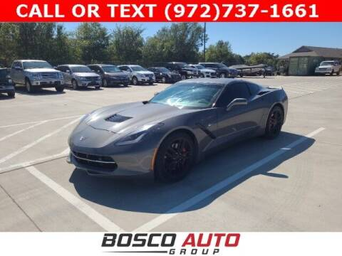 2016 Chevrolet Corvette for sale at Bosco Auto Group in Flower Mound TX