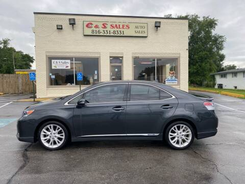 2010 Lexus HS 250h for sale at C & S SALES in Belton MO