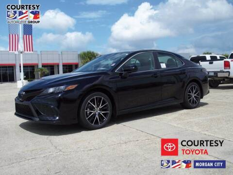 2021 Toyota Camry for sale at Courtesy Toyota & Ford in Morgan City LA