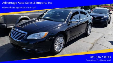 2011 Chrysler 200 for sale at Advantage Auto Sales & Imports Inc in Loves Park IL