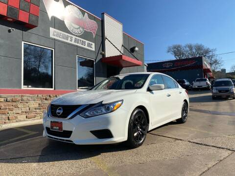 2018 Nissan Altima for sale at Chema's Autos & Tires in Tyler TX