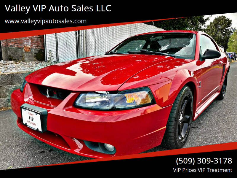 1999 Ford Mustang SVT Cobra for sale at Valley VIP Auto Sales LLC in Spokane Valley WA
