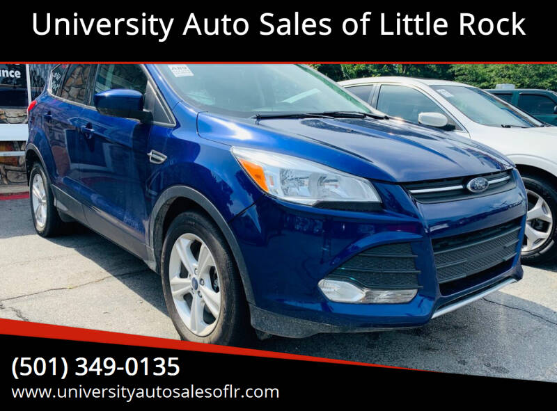 2014 Ford Escape for sale at University Auto Sales of Little Rock in Little Rock AR