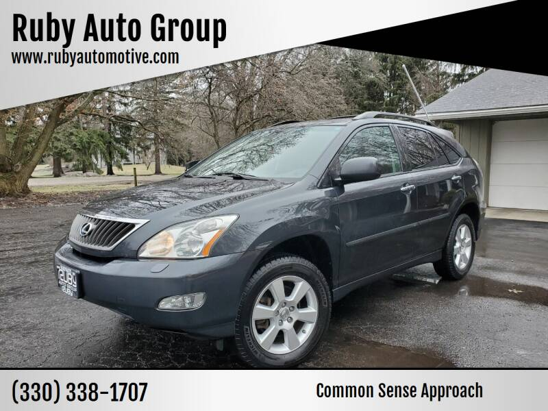 2009 Lexus RX 350 for sale at Ruby Auto Group in Hudson OH
