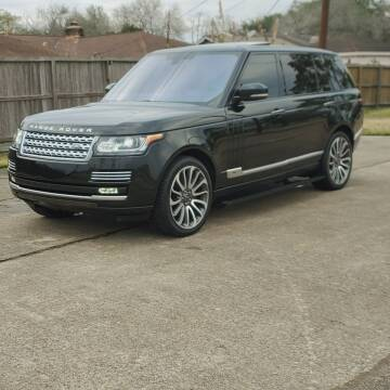 2016 Land Rover Range Rover for sale at MOTORSPORTS IMPORTS in Houston TX