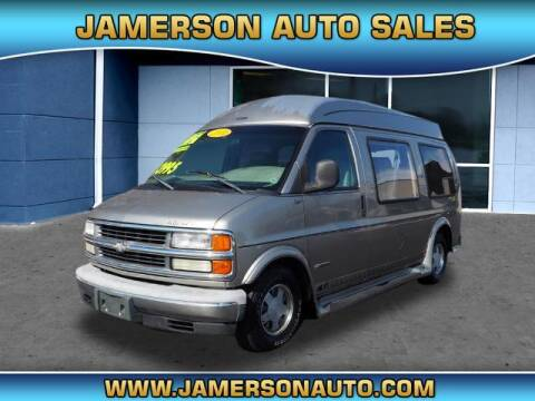 2001 Chevrolet Express Cargo for sale at Jamerson Auto Sales in Anderson IN