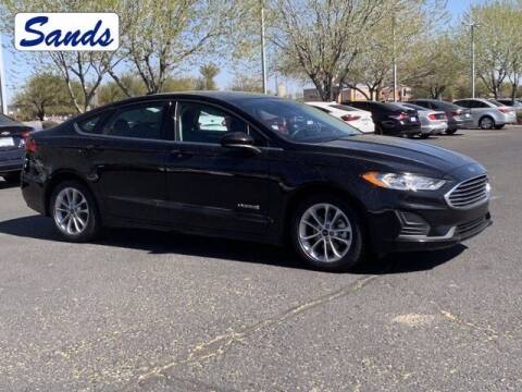 2019 Ford Fusion Hybrid for sale at Sands Chevrolet in Surprise AZ
